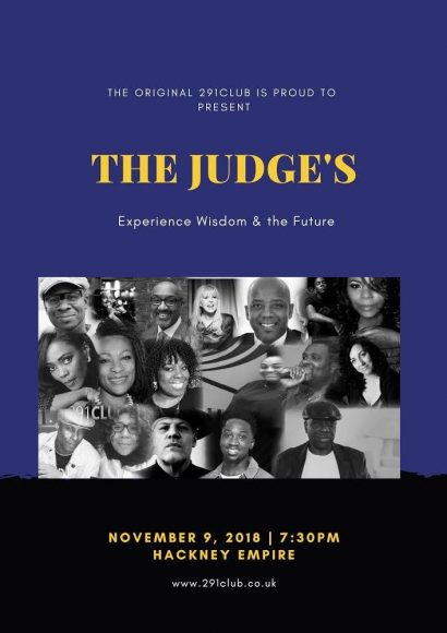 The judges of The 291 Club